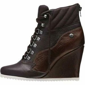 Reebok Women's Alicia Keys Wedge Boots